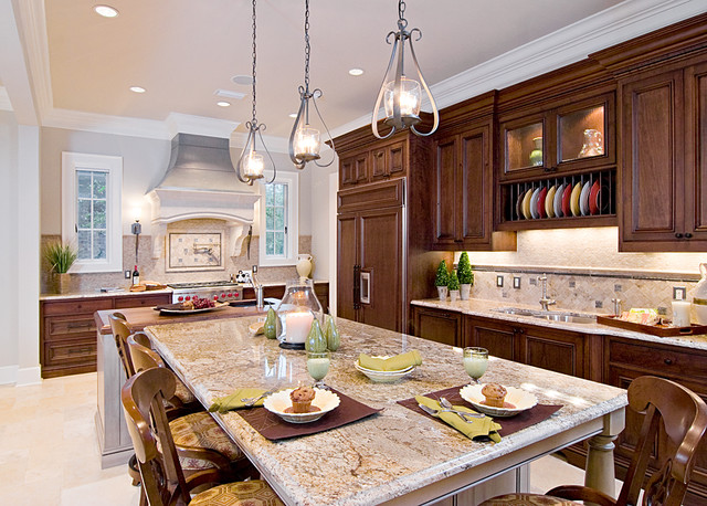 Traditional Kitchen with rich details traditional-kitchen