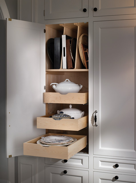 interior drawers and tray partitions traditional kitchen other : organizer drawer showplace kitchen convenience accessories