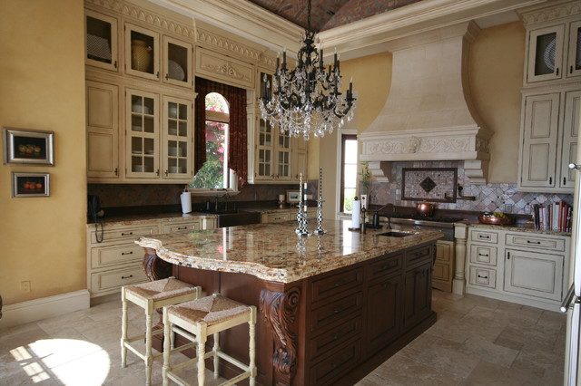 Traditional kitchens victorian kitchen miami by for Traditional victorian kitchen designs