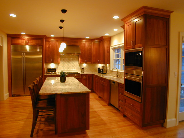Traditional Mahogany Kitchen Of Today traditional-kitchen