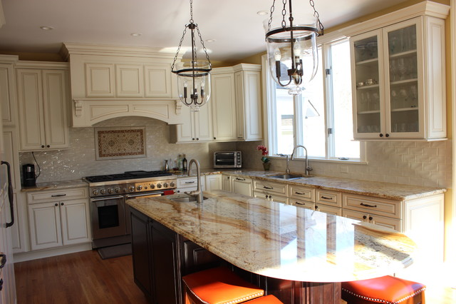 Traditional New England Colonial Remodel Kitchen Traditional Kitchen