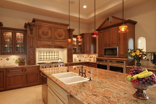 Traditional New Home Traditional Kitchen Phoenix