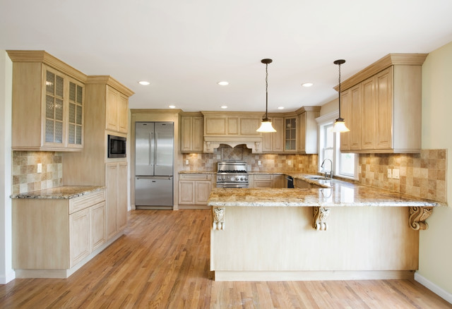 Traditional Open Concept Kitchen Modern Kitchen New
