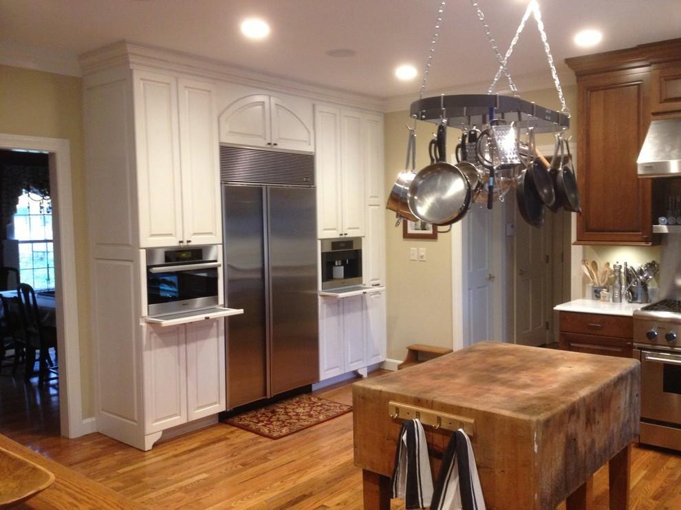 Traditional Quartersawn White Oak Kitchen