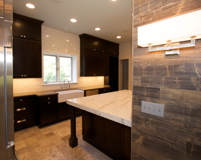Traditional Remodel in Shaker Heights contemporary-kitchen