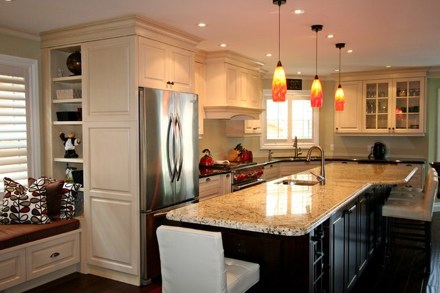 Trend watch top 8 kitchen designs that will rule in 2015 for Classic style kitchen ideas