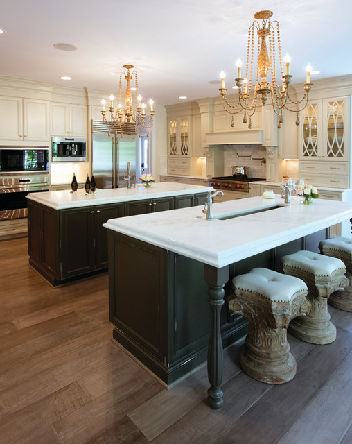 Traditional Transitional Kitchen In Maple Melted Brie And