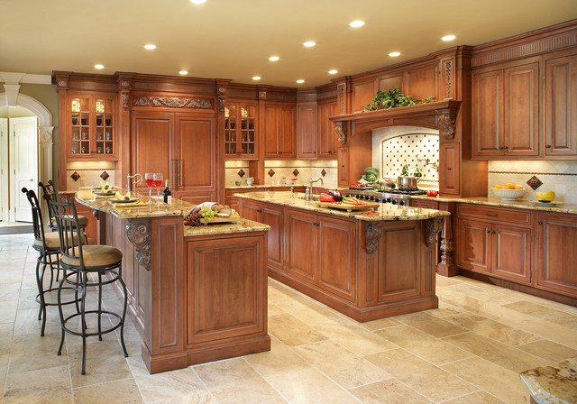 kitchen with two islands traditional two islands in franklin lakes traditional 6557