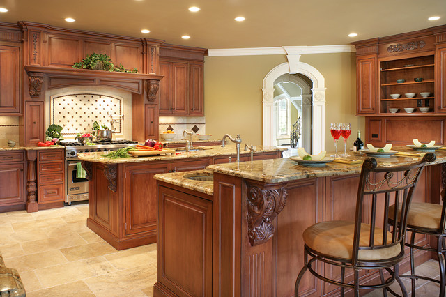 kitchen with two islands traditional two islands in franklin lakes 6557