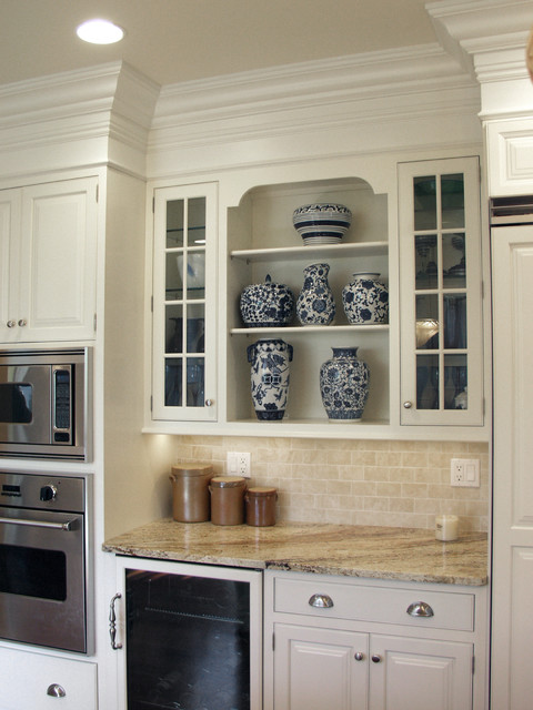 Traditional White Cabinets traditional-kitchen