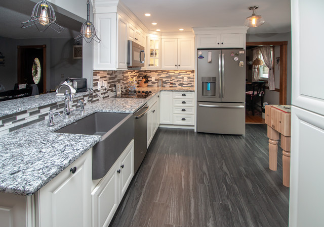 Traditional White Icing Kitchen Remodel