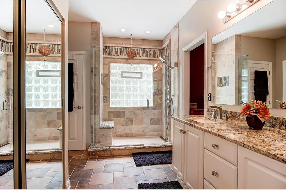 Traditional white with textured back slash