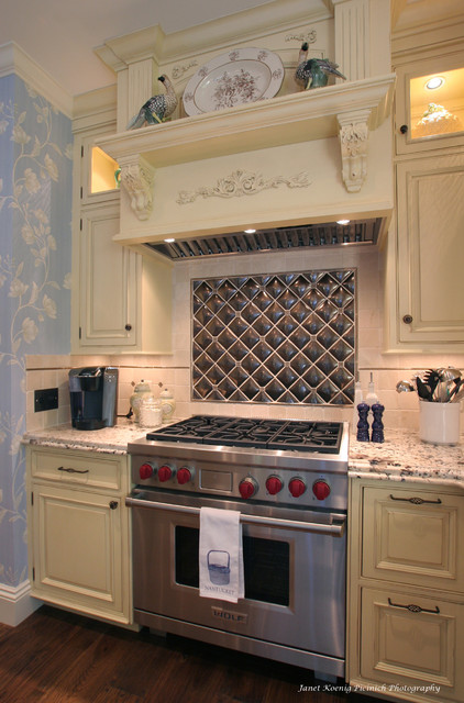 Traditional with a Twist traditional-kitchen