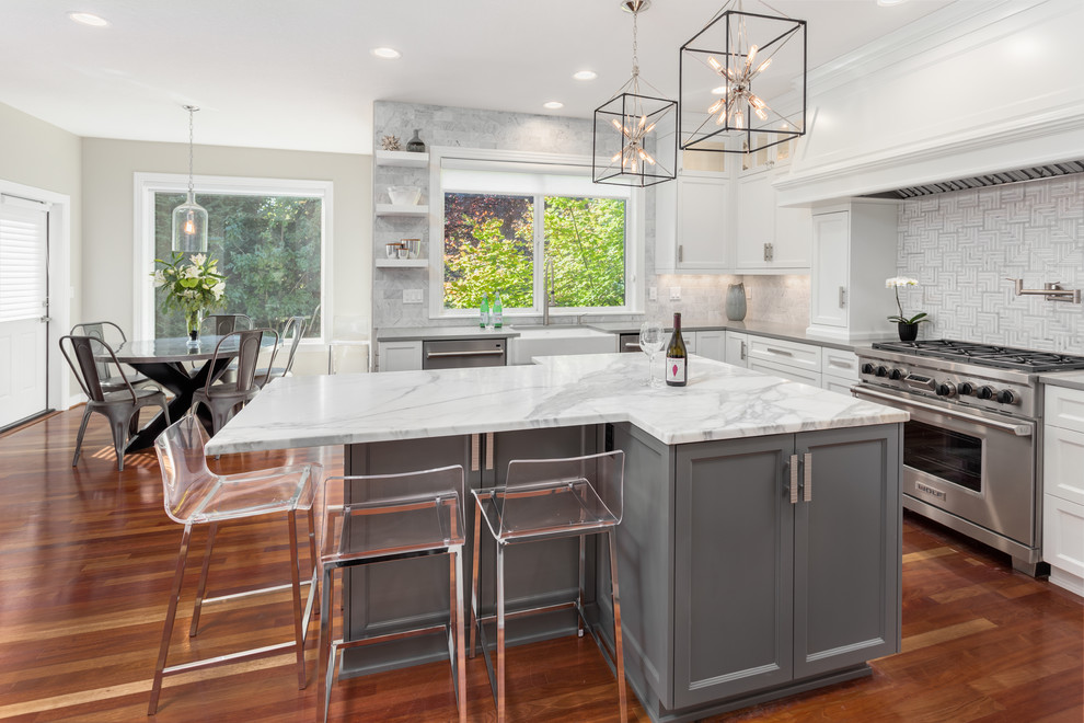 Traditional With A Twist Traditional Kitchen