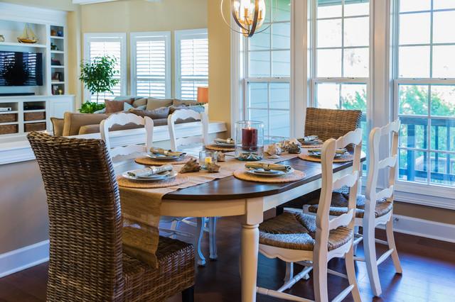 Transcending Southern Living beach-style-kitchen