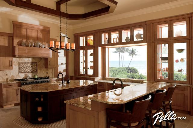 Transform your kitchen space w/Pella® Architect Series® special shape windows contemporary-kitchen