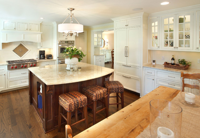 Transformed Home E traditional-kitchen