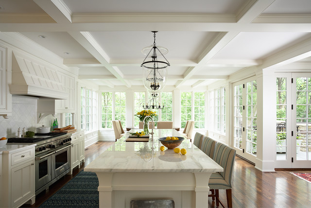 Transformed Traditional traditional kitchen