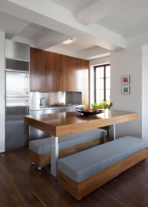 Modern Kitchen by Brooklyn Architects & Building Designers Architecture Workshop PC