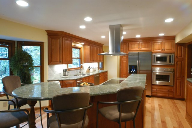 Transitional 3 contemporary-kitchen