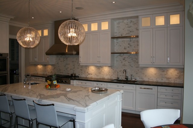Transitional 4 contemporary kitchen toronto by for Bellini kitchen cabinets