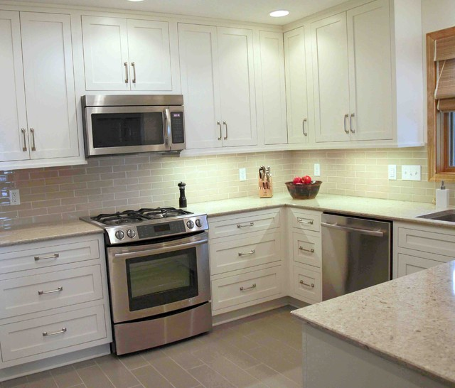 Transitional and Timeless transitional-kitchen