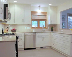 Transitional and Timeless transitional kitchen