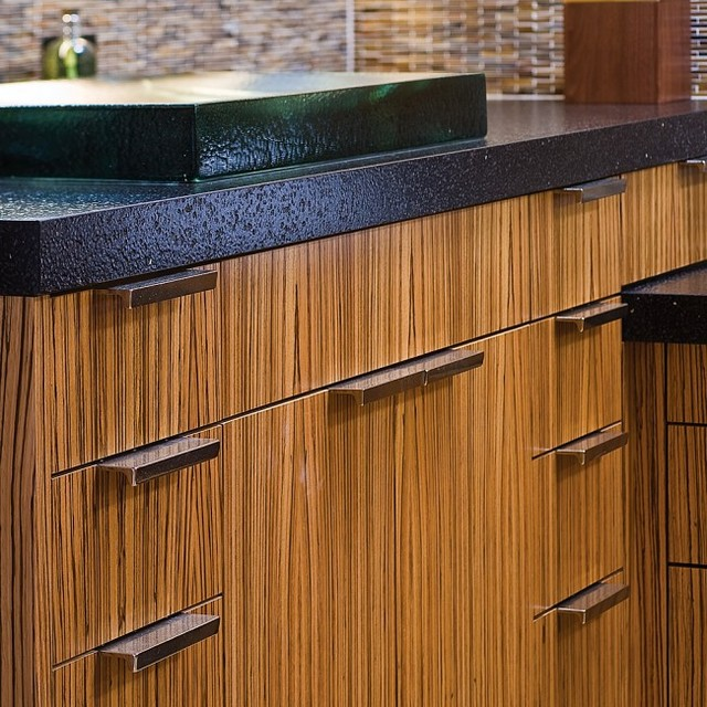 Transitional Cabinet + Drawer Pull - Transitional - Kitchen - chicago - by Clark & Barlow ...
