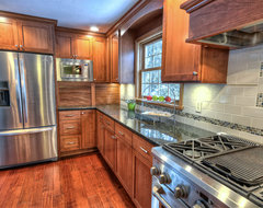 Chagrin Falls, Ohio transitional-kitchen