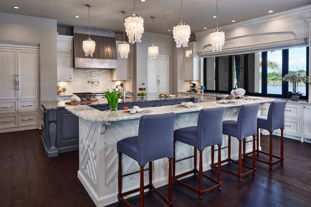 Transitional Coastal Kitchen