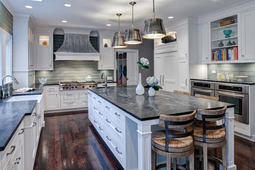 [Transitional Kitchen by Glen Ellyn Kitchen & Bath Designers Drury Design]