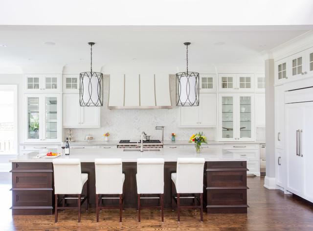 Transitional Craftsman Custom Home Transitional