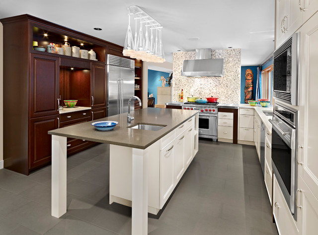 Transitional transitional kitchen edmonton by for Bella cucina kitchen cabinets