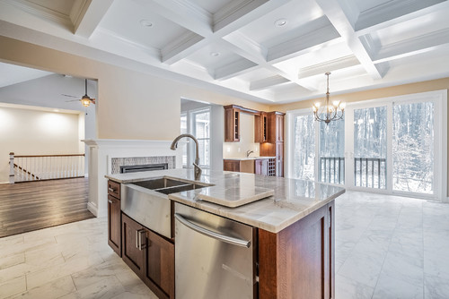 Marble Kitchen Countertops for Your Rochester Custom Home