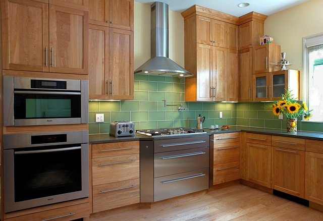 Transitional Family Kitchen - Transitional - Kitchen ...