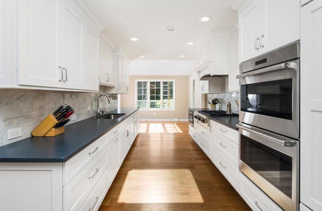 Transitional Galley Kitchen Design Yardley Pa Transitional Kitchen Philadelphia By Lang S Kitchen Bath