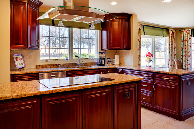 Transitional  home contemporary-kitchen