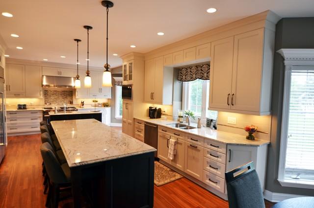 Transitional Kitchen Transitional Kitchen Chicago By Adam Hartig