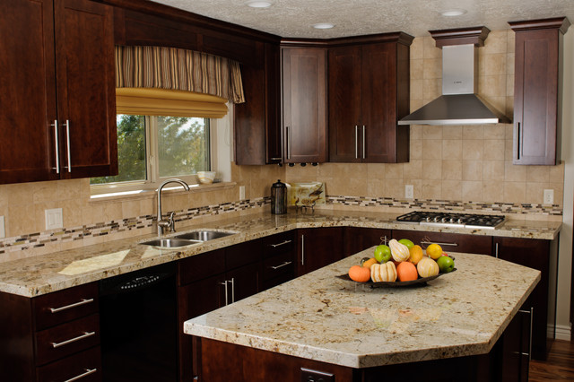 Complete Transitional Kitchen Remodel Transitional Kitchen Other By Dreammaker Bath And