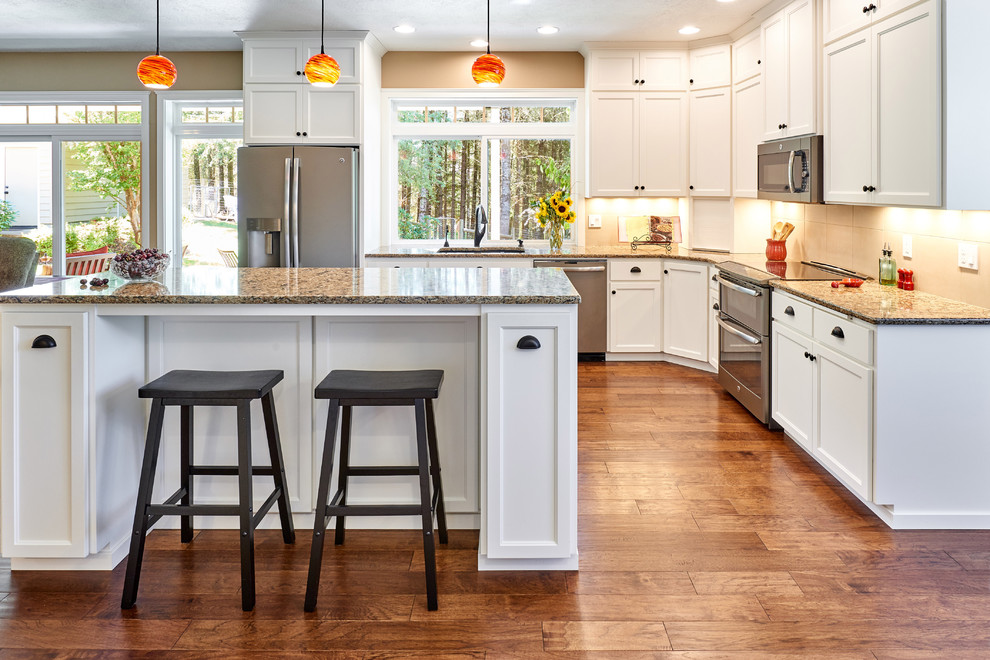 Transitional Kitchen and Dining, Corvallis, Oregon ...