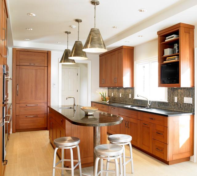 New York Kitchen Design: Transitional Kitchen