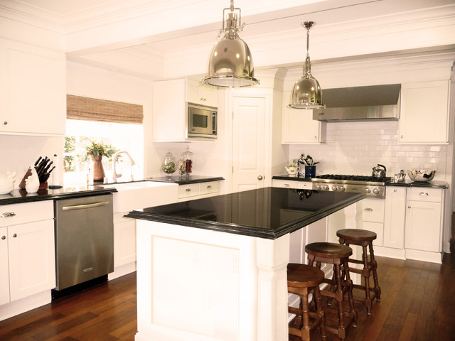 traditional kitchen by Courtney Blanton Interiors