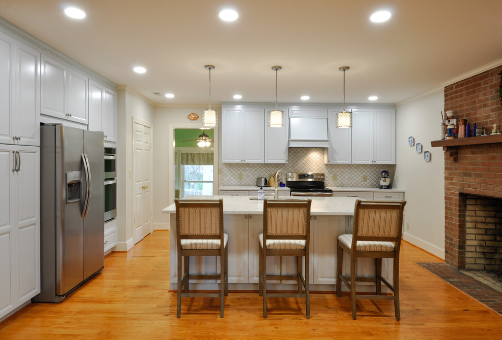 Transitional Kitchen Design Fredericksburg, VA ...