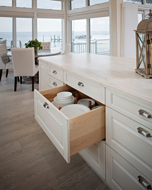 Transitional Kitchen - Beach Style - Kitchen - Other - by ...