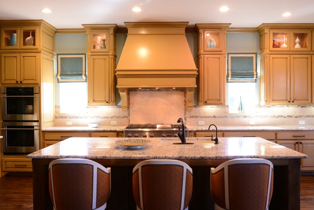 Transitional Kitchen In Dallas Tx Traditional Kitchen