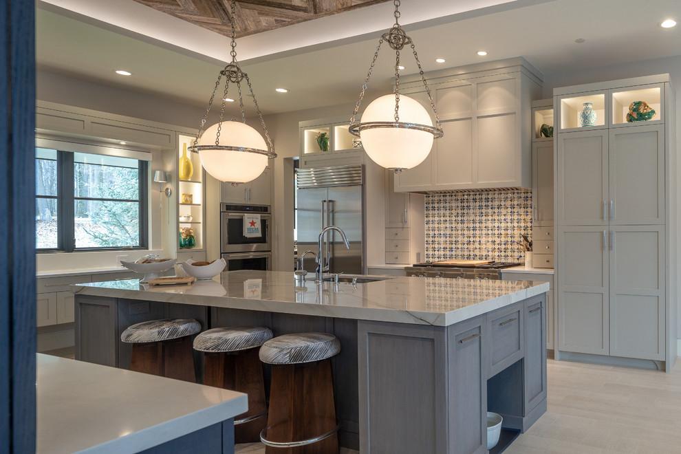 Transitional Kitchen - Transitional - Kitchen - Dallas