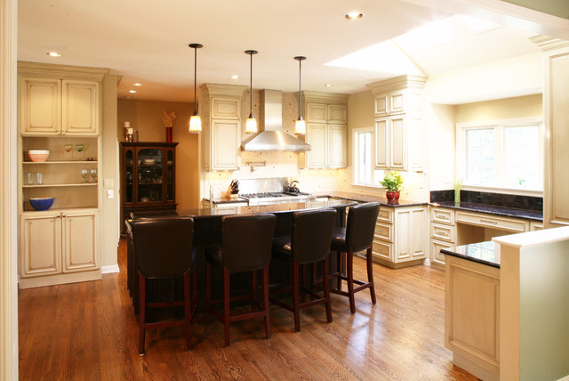 Transitional kitchen for Accents salon chagrin falls