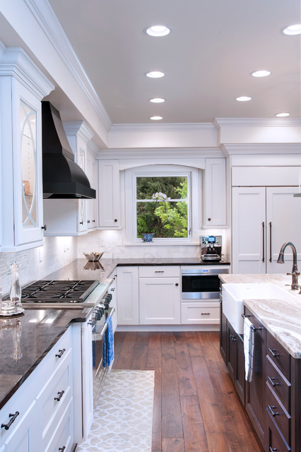 Transitional Kitchen - MDF Paint