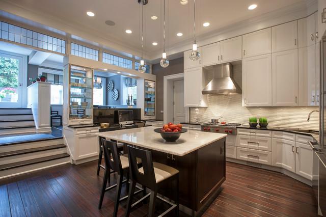 Chicago Kitchen Gold Coast Brownstone Transitional