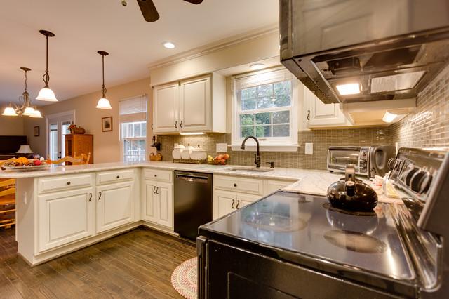 Transitional Kitchen Remodel Burke Va By Reico Kitchen Bath Transitional Kitchen By